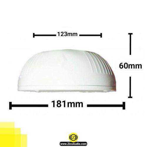 بلندگو سقفی زیکو مدل -zico-cs-33