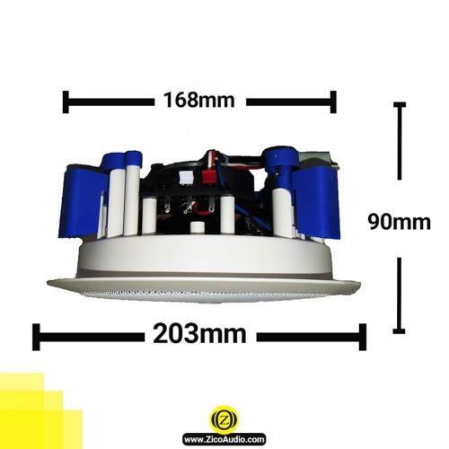 بلندگو سقفی زیکو مدل -zico-cs-45