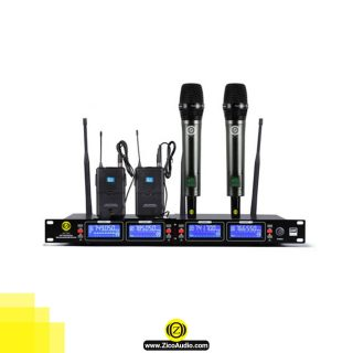میکروفن بیسیم زیکو مدل UR 1000HC - انواع میکروفون بدون سیم زیکو