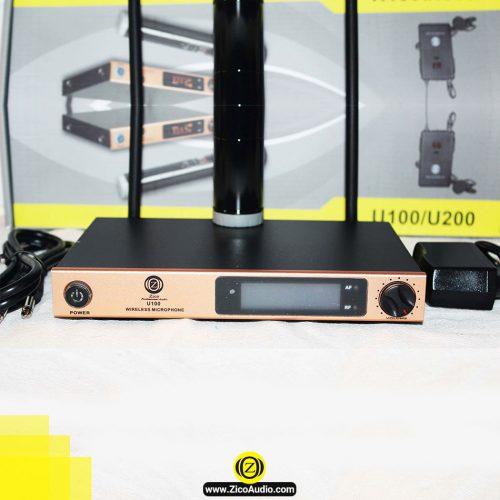 میکروفن بیسیم مدل U 100C - تجهیزات صوتی زیکو