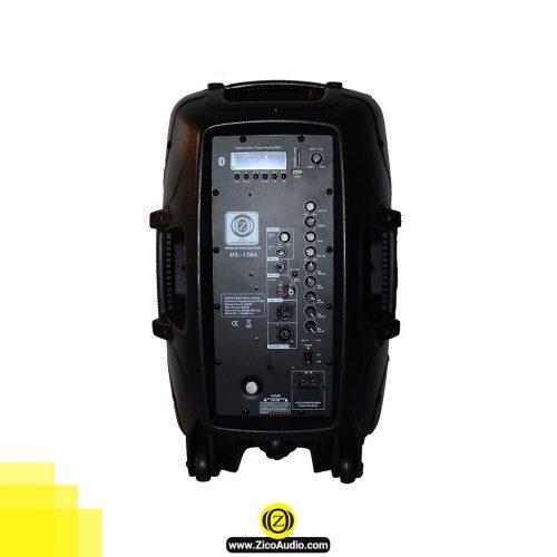 تصویر پشت باند اکتیو زیکو مدل DX-120A - تجهیزات صوتی زیکو