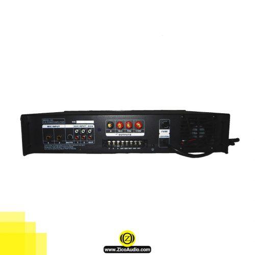 تصویر پشت آمپلی فایر زیکو مدل ZA-1000 - تجهیزات صوتی
