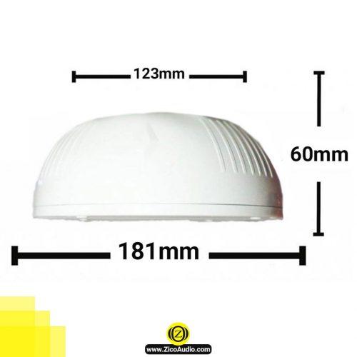 بلندگو سقفی زیکو مدل -zico-cs-22